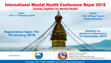 International Mental Health Conference Nepal 2018